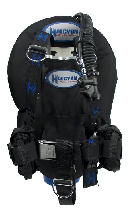 """Разгрузочный жилет Halcyon Eclipse 40 lbs сталь - Интернет-магазин товаров для дайвинга """"Diving-shop"""" в Киеве"""