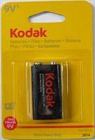 """Батарейка """"Крона"""" Kodak 6F22 9V на блістері 27059 (10/50)"""
