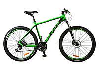 """Велосипед 27.5"""" Leon XC-70 AM Hydraulic lock out 14G HDD рама-20"""" Al черно-зелен. 2017"""