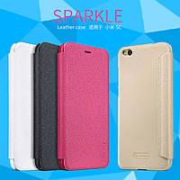 Кожаный чехол Nillkin Sparkle для Xiaomi 5C (4 цвета)