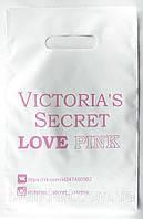 """Полиэтиленовые пакеты, тип """"банан"""", размер 20*30 см, с печатью (Victoria's Secret)"""