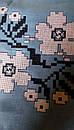 Вышиванка лен бохо блузка вышитая,черный лен, этно стиль, Bohemian, фото 10