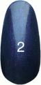 Гель-лак Kodi Professional № 2, Темно-фиолетовый с перламутром, 8 мл