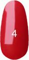 Гель-лак Kodi Professional № 4(70R), Классический красный, эмаль, 8 мл