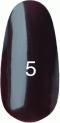 Гель-лак Kodi Professional № 5, Коричнево-малиновый, 8 мл