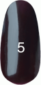 Гель-лак Kodi Professional № 5(100WN), Коричнево-малиновый, 8 мл