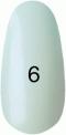 Гель-лак Kodi Professional № 6, Жемчужный с розовым перламутром, 8 мл