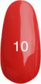 Гель-лак Kodi Professional № 10, Ализариновый красный, 8 мл