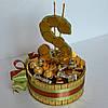 """Подарок из конфет и шоколада """"Доллар"""", фото 4"""