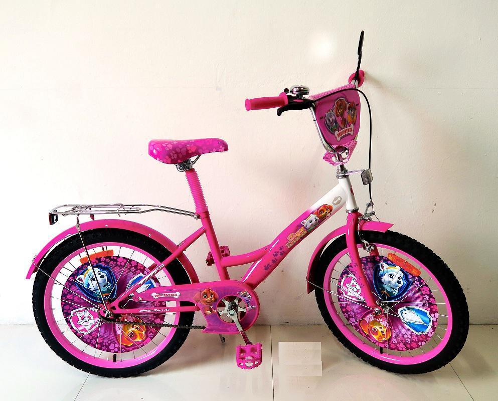 """Велосипед детский Щенячий патруль """"Paw Patrol"""" 20"""" 172027."""