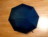 Зонт черный, полуавтомат, 8 спиц