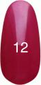 Гель-лак Kodi Professional № 12, Малиновый с перламутром, 8 мл