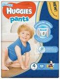 Хаггіс Літтл Вокерс Трусики-Підгузник для мальчиков 4 (9-15 кг), 52 штук