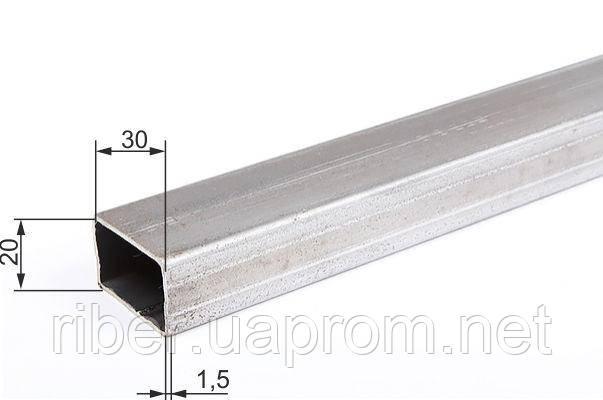 Прямоугольная труба 30х20х1.5 мм, фото 2