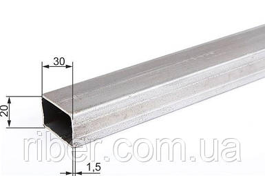Прямоугольная труба 30х20х1.5 мм