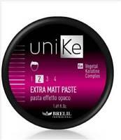 Паста для волос моделирующая с матовым эффектом UNIKE 50 ml BRELIL