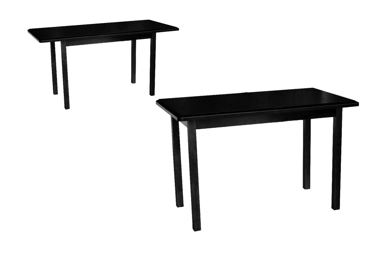 Стол обеденный Сид венге 120(+30)х70х75 деревянный раскладной