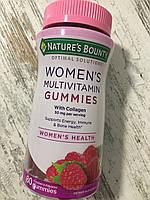 Мультивитамины для женщин с коллагеном NATURE´s BOUNTY