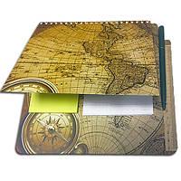 Блокнот-планшет NotePad со стикерами Post-it «Путешественник», фото 1