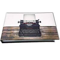 Блокнот MiniNotes со стикерами Post-it, в твердой обложке «Печатная машинка»