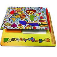 Блокнот-планшет NotePad со стикерами Post-it «Школьник», фото 1