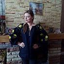 Вышиванка лен бохо блузка вышитая,черный лен, этно стиль, Bohemian, фото 2