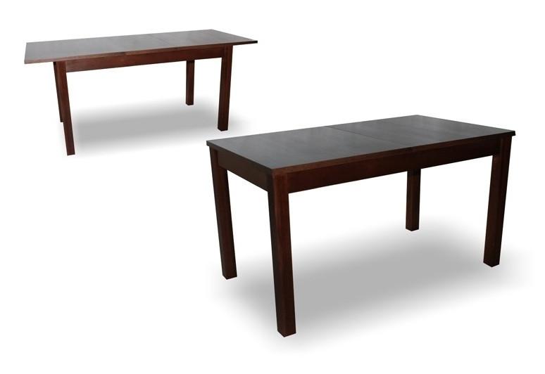 Стіл обідній Модерн Плюс горіх 160(2х40)х90х76 дерев'яний розкладний