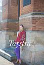 Блуза бохо вышитая, широкий рукав, вышиванка лен, этно стиль, Bohemian, фото 5
