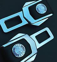 Комплект элитных заглушек с логотипом Mersedes (Мерседес)
