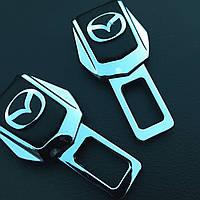 Комплект элитных заглушек с логотипом Mazda (Мазда)