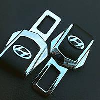 Комплект элитных заглушек с логотипом Hyundai (Хюндай)