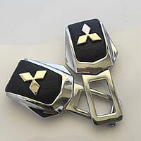 Комплект элитных заглушек с логотипом Mitsubishi (Митсубиси)