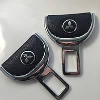 Комплект элитных заглушек с логотипом Mitsubishi (Митсубиси) в коробке