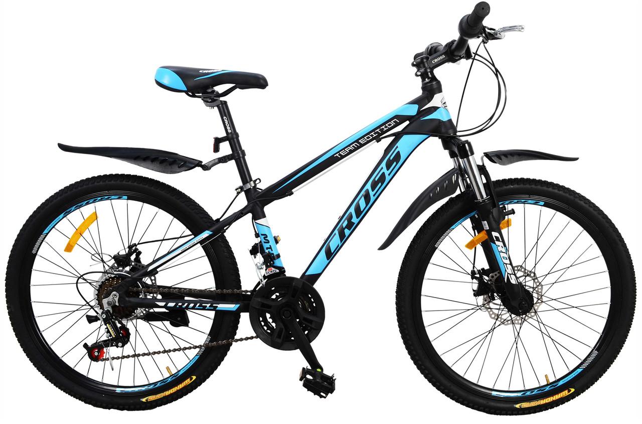 """Підлітковий велосипед Cross Hunter 24"""""""