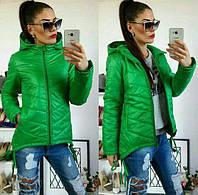 Куртка-парка женская, модель  210, трава
