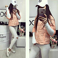 Куртка женская,  модель 205, персик, фото 1