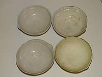 Чашка фарфоровая выпарительная №3 100 мл, 97 мм, грязноватые