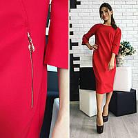 Платье женское, модель 726,  красный, фото 1