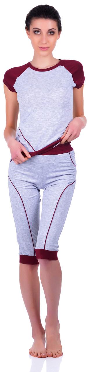 Домашній костюм / піжама (футболка і бриджі) 0081/82