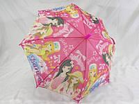 Недорогой зонтик с маленьким куполом для девочек № к-1