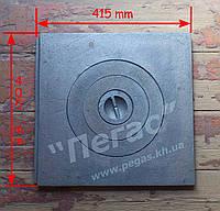 Плита чугунная однокомфорочная (405х415 мм), фото 1