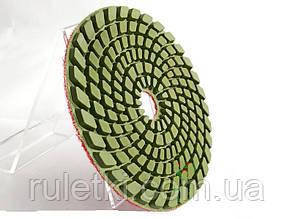 Круг полировальный гибкий (черепашка) Baumesser 100x4x15 №120 Premium