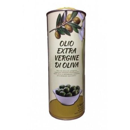 Оливковое масло в жестяной банке 1 л.