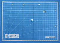 Макетный самовосстанавливающийся коврик для резки ( Cutting Mat ) Santi, А4 (952425)