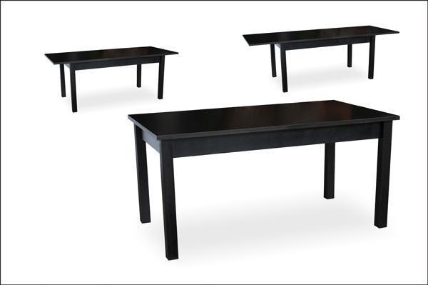 Стол обеденный Модерн венге 140(+40)х80х76 деревянный раскладной