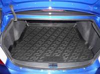 Резиновый коврик в багажник Lifan Breez 520 SD 06-  Lada Locer (Локер)