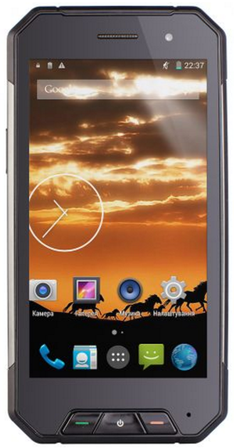 "Sigma mobile X-treame PQ27 black IP68, 1/8 Gb, 4.66"", Snapdragon 210, 3G, 4G"
