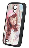 Печать фото на чехле для Samsung Galaxy S4 силикон (TPU)