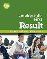 Cambridge English First Result. Student's Book with online Practice