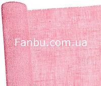 Сітка-мішковина натуральна флористична ,рожевого кольору (лист 0.5* 0.5 м)